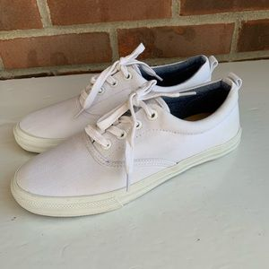 Talbots white tennis shoes sneakers